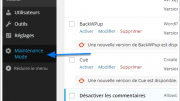 Comment faire une page d'attente sur votre site WordPress